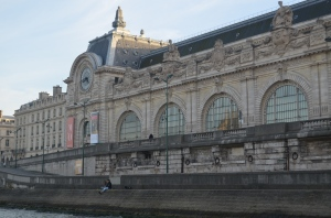Musee Orsay, from Seine River ...