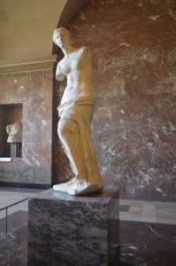 Venus de Milo: From around 100BC ... (Louvre Museum)