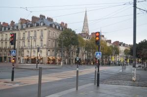 Downtown Nantes ...