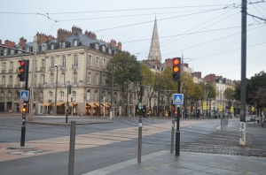 Downtown Nantes ...